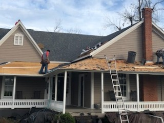 home remodeling projects include residential roof replacement in Georgia