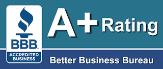 a plus rating at bbb for roofing contractors