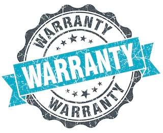 roofing contractors warranty stamp for materials and labor