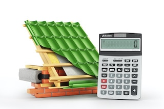 calculator with roof materials to calculate new roof cost