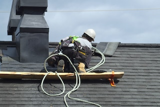 after roof inspectors report seller makes repairs to roof