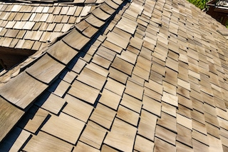 natural roof types of wood shakes made from cedar