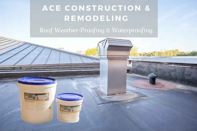 weather-proofing your roof with ace construction and remodeling