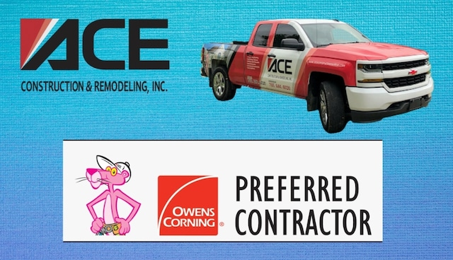 ace construction is owens corning preferred contractor for repair or replace roof