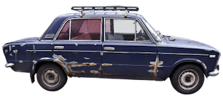 repair or replace roof is like an old car