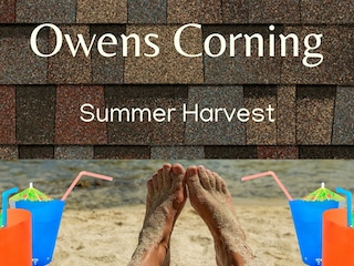 owens corning shingle colors summer harvest is like toes in the sand and cool drinks