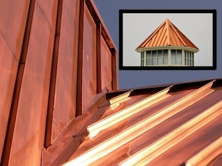 copper can be a great metal roof color
