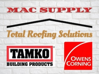 mac roofing supply logo has many metal roof colors through owens corning and tamko products
